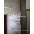 Painel de madeira natural do cimento do tapume da grão da espessura da alta qualidade 9mm
