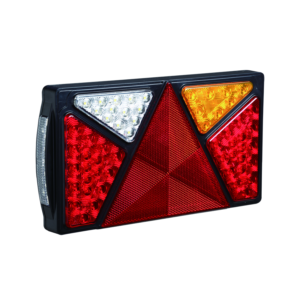10-30V E4 LED Trailer Marnie Combination Tail Lamps