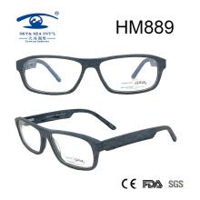 Latest Glasses Frames Full Rim Acetate Eyeglasses (HM889)