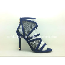 Navy Blue High Heels Sexy Women Sandal Shoes