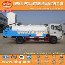 DONGFENG 4x2 LHD / RHD 8000L camion de nettoyage haute pression 190hp moteur cummins