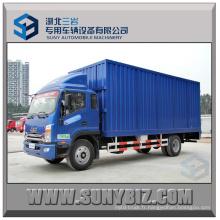 JAC 4X2 180HP 6,2 m Camion Van Cargo