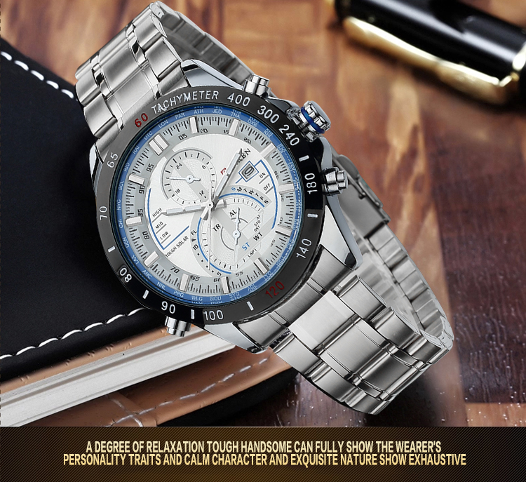 Oem Luxury Branded Stainless Steel Watches For Men