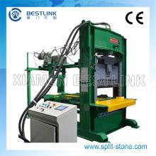 Máquina de guillotina de piedra para hacer piedras de pared