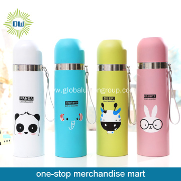 Special Designed Cartoon Thermos Flask for Children