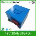 Bateria de íon de lítio de 48V bateria 40ah 60ah 80ah 100ah