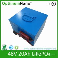 Paquet de batterie au lithium de vélo électrique 48V 20ah avec PCM