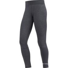 Lady Fitness lange schwarze Hose laufen