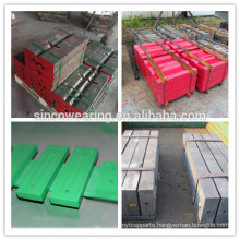 High Chrome impact crusher spare parts blow bar