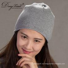 Multi color sombreros de punto de alta calidad personalizados su propio logotipo al por mayor cachemira slouchy bebé gorros de beanie