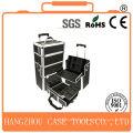 cosmetics case,aluminium trolley train case,metal cosmetic beauty cases
