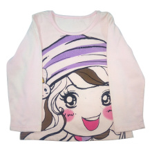 Spring Kids Girl T-Shirt for Children′s Clothes