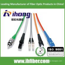 Cordon de raccord optique SC LC FC ST fibre optique