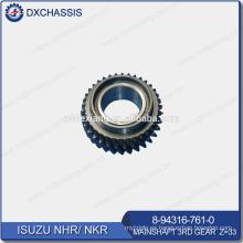 Genuine NHR NKR Transmission Mainshaft 3RD Gear Z = 33 8-94316-761-0