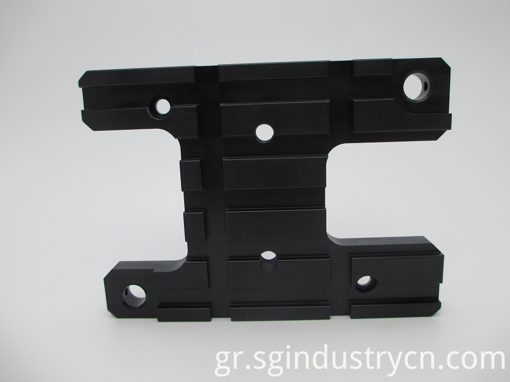 Custom Machining Service with Black Oxide
