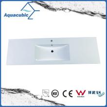 High-Quality Sanitary Ware Solid Surface Polymarble Bathroom Wash Basin (ACB1501)