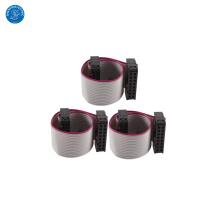 Cable plano personalizado de la cinta de la echada de 16 Pin 1.27mm con precio bajo