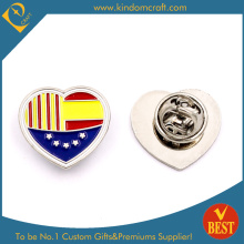 Lover Spain Enamel Lapel Pin with Nickel Plating