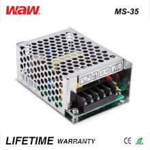 Driver do diodo emissor de luz do anúncio de MS-35 SMPS 35W 24V 1.5A