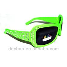 2014 diseñador barato niños gafas de sol por mayor de yiwu