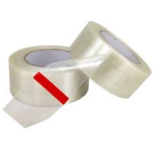 Fita de filamento unidirecional reforçado com fibra de vidro de cor transparente
