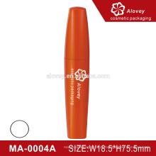 5ml injeção cor laranja recipiente de mascara vazio