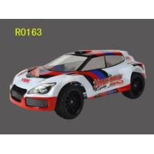 cepillado de 1/16 escala 4WD coche rally rc eléctrico, diseño único de vehículo RC