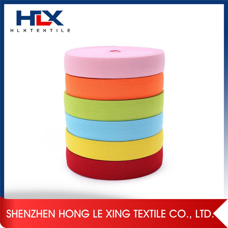knitted polyester elastic