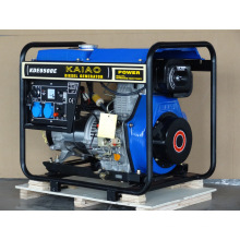 5kw Diesel Genset KAIAO Genset électrique Petit Home Use Genset 6500E