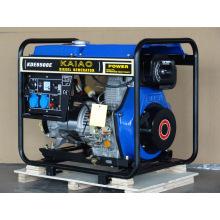 5kw Diesel Genset KAIAO Genset électrique Petit Home Use Genset 6500E