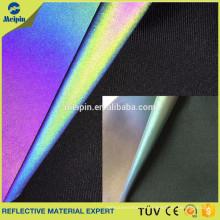 Rainbow Spandex/Elastic/Stretchable Reflective Fabric By the Yard