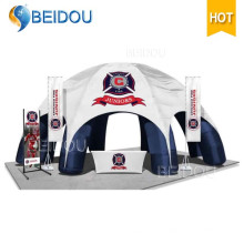 Prix de la tente publicitaire gonflable Évènements gonflables en dôme Shell Spider Tent