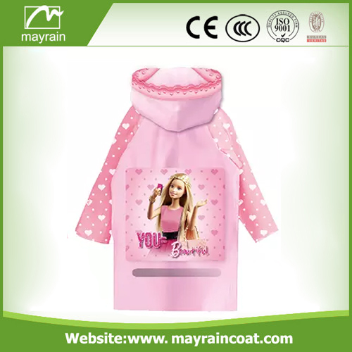 High Quality Fabric Polyester Raincoat