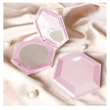 Luxury Pink Hexagon Brow Wax Gel Organic Private Label Styling Your Eyebrow Soap Brow Soap with Mirror