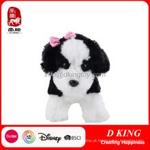 Bonito brinquedo de pelúcia animal cão de pelúcia brinquedo macio de pelúcia