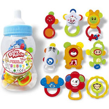 9PCS Baby Rattle with En71
