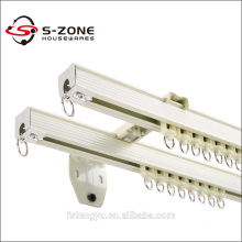 aluminium curtain track with accessories for building project