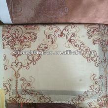 Cortina de voile, cortina de voile de doble capa, cortinas de velo con motivos