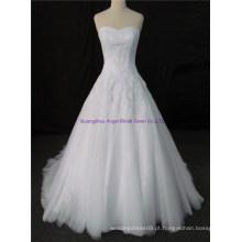 Designer elegante de alta qualidade personalizar vestido de noiva nupcial