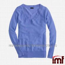 Новый дизайн V-образным вырезом свитер 2014 кардиган женщин вязания моделей