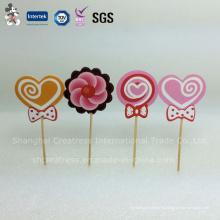Lollipop preciosa forma Cake Decorating Supplies para cumpleaños infantil