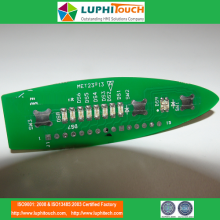 Low Cost for PCB/FPC/PET Assemblies,Industrial Computer PCB,Multicolour Display Module PCB Manufacturers and Suppliers in China Metal Dome Tactile PET Cable Heatseal Lamination PCBA supply to Italy Suppliers