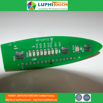 Factory best selling for Multicolour Display Module PCB Metal Dome Tactile PET Cable Heatseal Lamination PCBA export to Indonesia Exporter