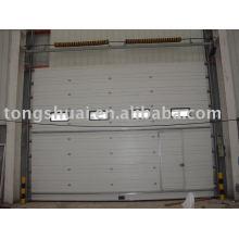 Промышленные двери используется