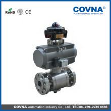 Válvula de esfera pneumática automática nova