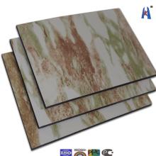 Fábrica directamente Guangzhou aluminio panel compuesto de plástico Xh006