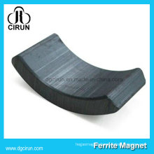 Strong Permanent Arc Ferrite Motor Magnets