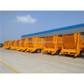 Small swing arm roll container refuse garbage truck