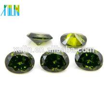 Alta calidad AAA precio barato flojo cz piedra pulida flojo diamante rougn
