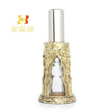 Bouteille de parfum Bouteille en verre parfumée à l'huile essentielle au Moyen-Orient Essencial